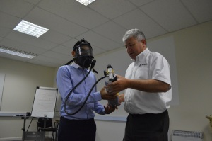 PLT Training Respiratory Protective Equipment Health and Safety