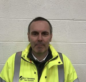 PLT Training Forklift Trainer Neil Speake