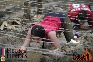 Lorne McCallum in action at  Tough Mudder in 2014