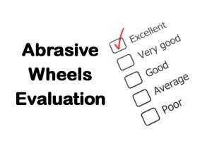PLT Training Abrasive Wheels Evaluation