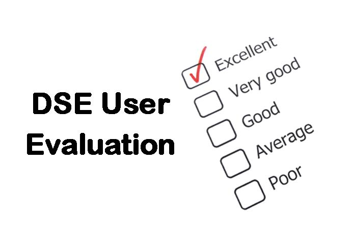 plt training dse user evaluation