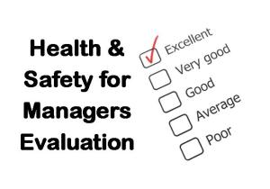 PLT Training H&S Awareness for Managers Evaluation