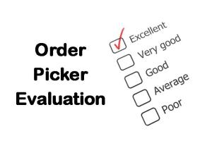 PLT Training Order Picker Evaluation