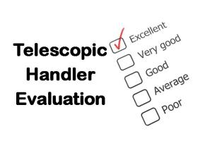 PLT Training Telescopic Handler Evaluation
