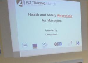 Health and Safety Awareness for Managers PLT Training 5x7cm WEB