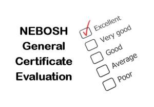 NEBOSH General Certificate in Occupational Health and Safety Course Evaluation