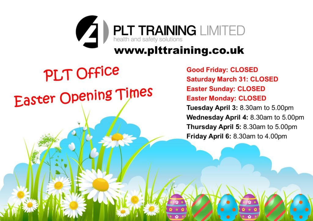 Easter Opening Times 2018
