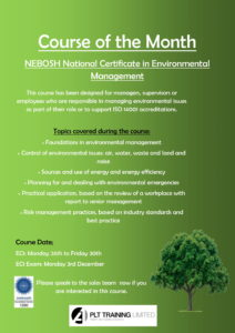 NEBOSH Environmental Management