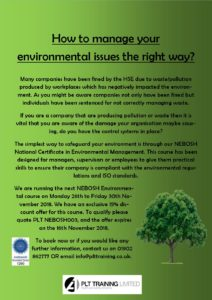 How to manage your environmental issues the right way?