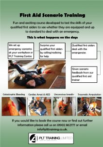 First Aid Sce Training